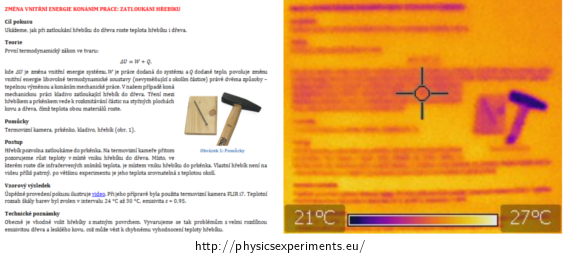 Fig. 3: To the left freshly printed page as seen by a digital camera, to the right the same page as seen by a thermal imaging camera
